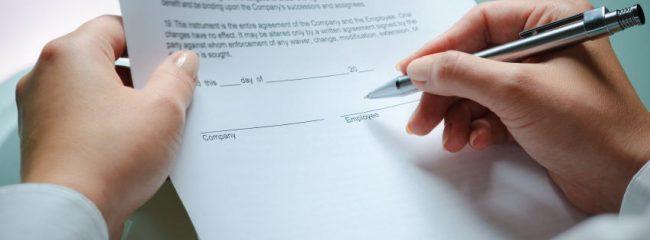 arbeidskontrakt
